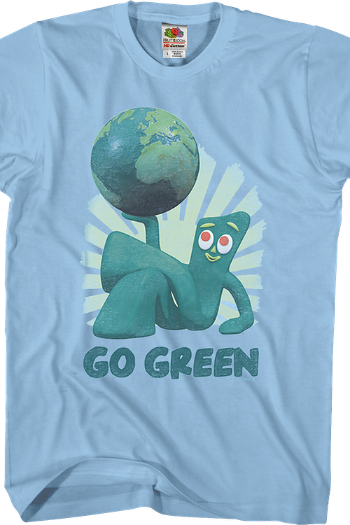 Go Green Gumby T-Shirt