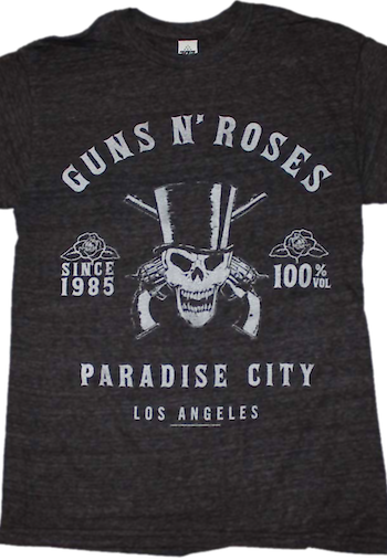 Guns N Roses Paradise City Shirt