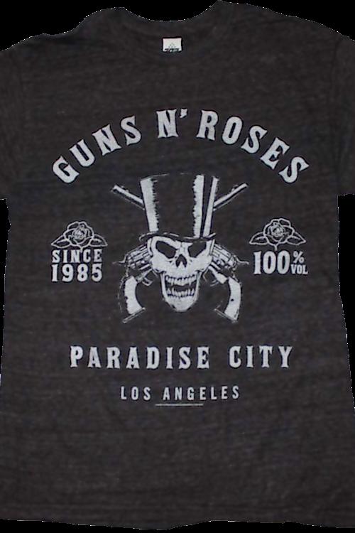 46eb6f87 Guns N Roses Paradise City Shirt