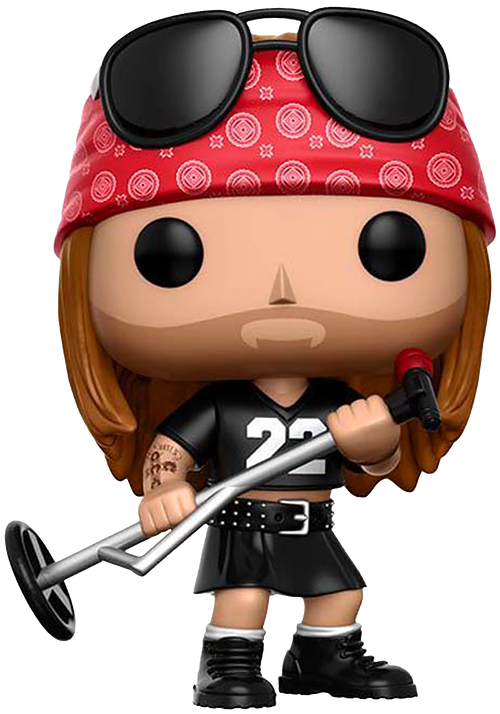 Guns N' Roses Axl Rose Pop Rocks Vinyl Figure