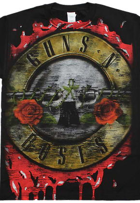 Bloody Logo Guns N' Roses T-Shirt