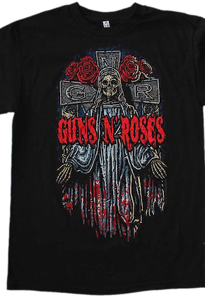 Skeleton Guns N' Roses T-Shirt