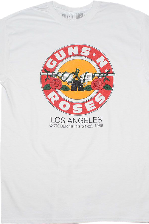 Los Angeles 1989 Guns N' Roses T-Shirt