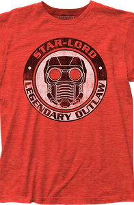 Star-Lord Guardians of the Galaxy T-Shirt