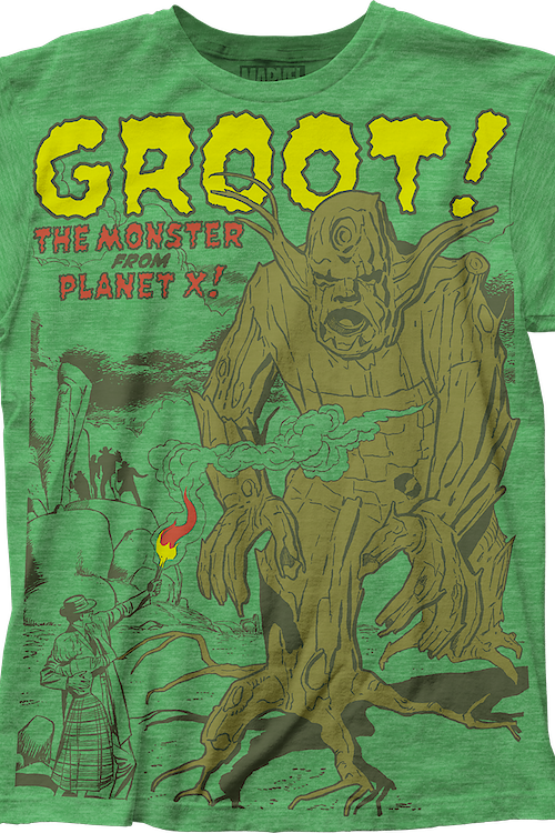 Monster From Planet X Groot T-Shirt