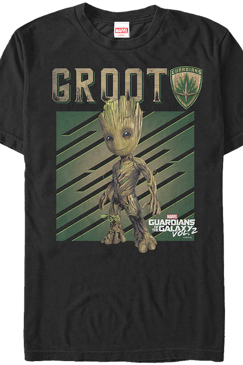 Groot Guardians of the Galaxy Vol. 2 T-Shirt