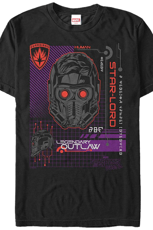 Legendary Outlaw Star-Lord T-Shirt