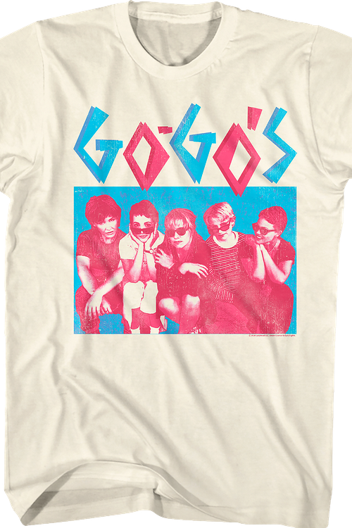 Group Photo Go-Go's T-Shirt