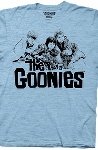 Mikey Chunk Mouth and Data Goonies T-Shirt
