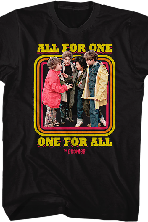 All For One Goonies T-Shirt