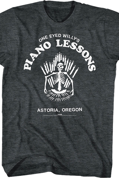 Piano Lessons Goonies T-Shirt