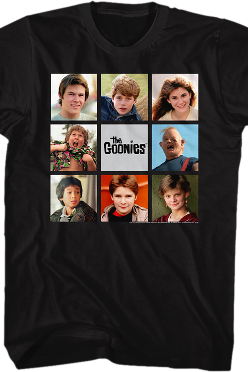 Collage Goonies T-Shirt