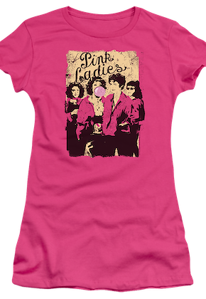 Junior Pink Ladies Grease Shirt