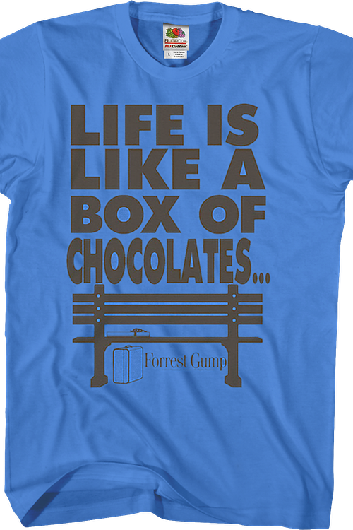 Box of Chocolates Forrest Gump T-Shirt
