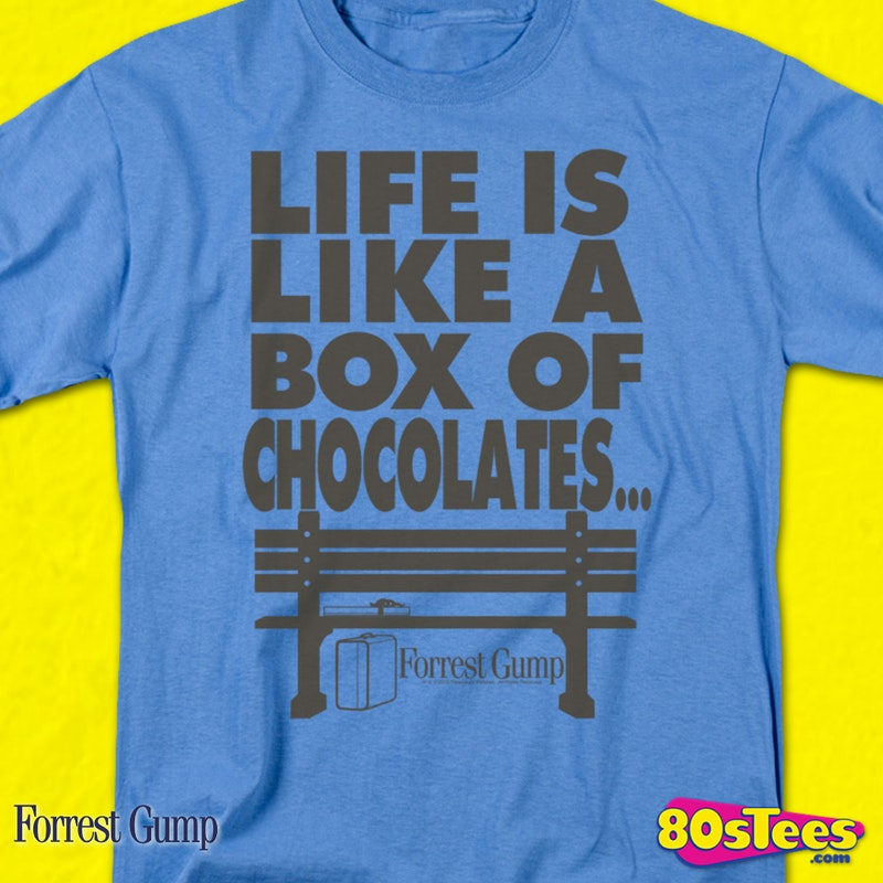 Box of Chocolates Forrest Gump T-Shirt eeb60c124f0