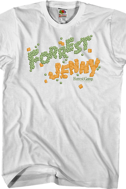 Peas and Carrots Forrest Gump T-Shirt