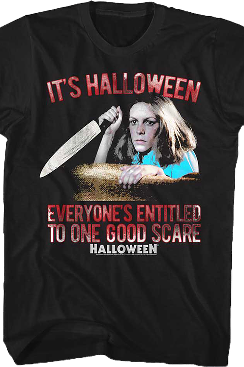 One Good Scare Halloween T-Shirt