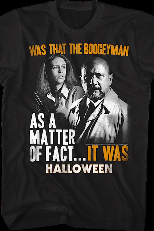 3cecd074 Boogeyman Halloween T-Shirt: Halloween Mens T-Shirt