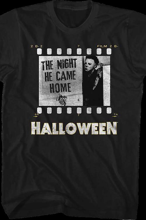 a1b193ca Film Reel Halloween T-Shirt: Halloween Mens T-Shirt