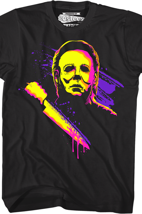Neon Michael Myers Halloween T-Shirt