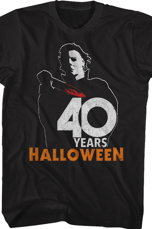 Michael Myers 40 Years Halloween T-Shirt