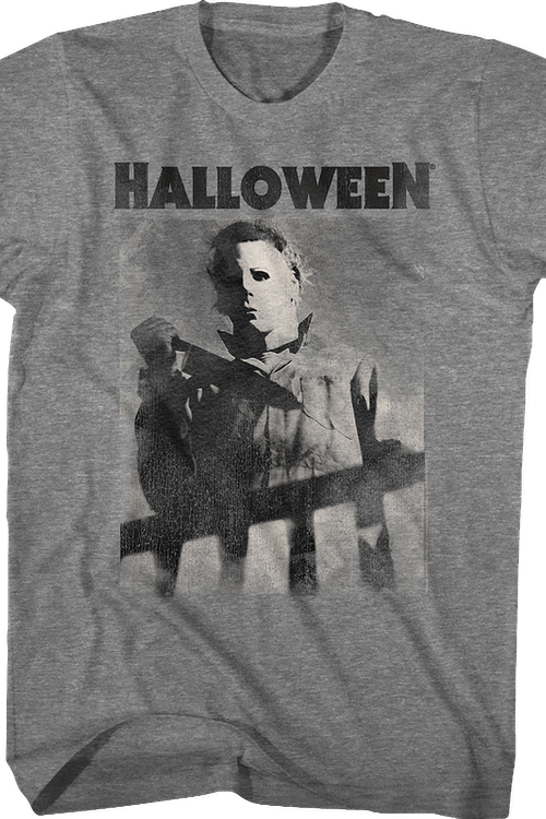 Distressed The Shape Halloween T-Shirt