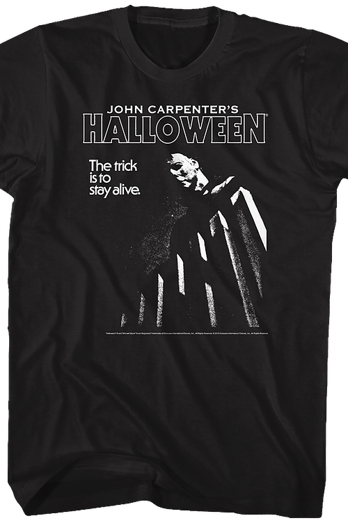Black and White Halloween T-Shirt