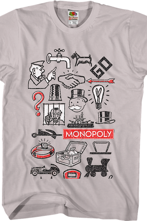 Icons Monopoly T-Shirt