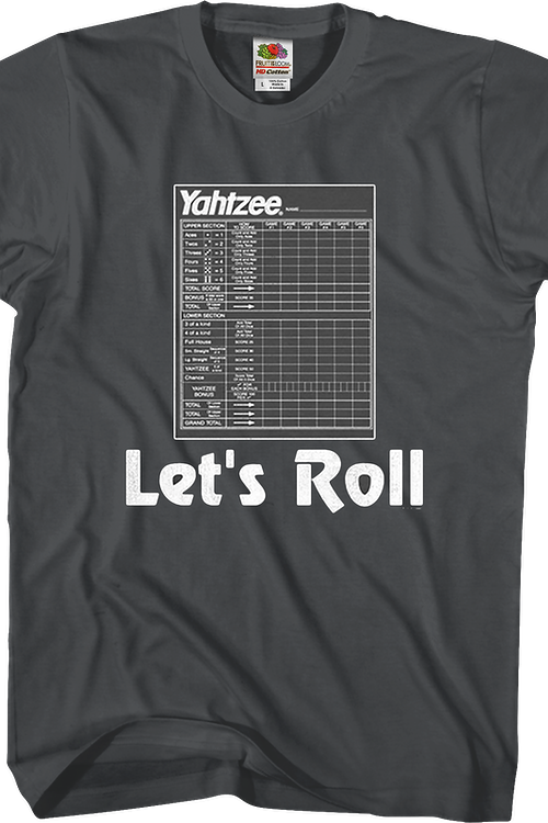 Let's Roll Yahtzee T-Shirt
