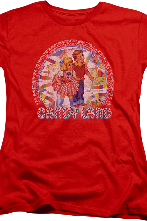 Womens Vintage Candy Land Shirt