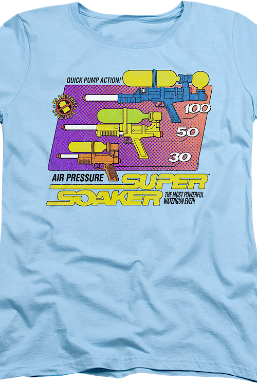 Womens Super Soaker Shirt