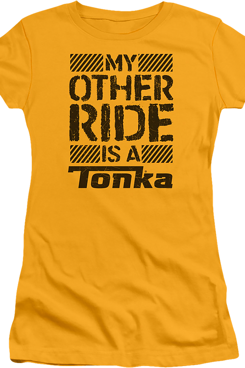 Junior My Other Ride Is A Tonka Shirt