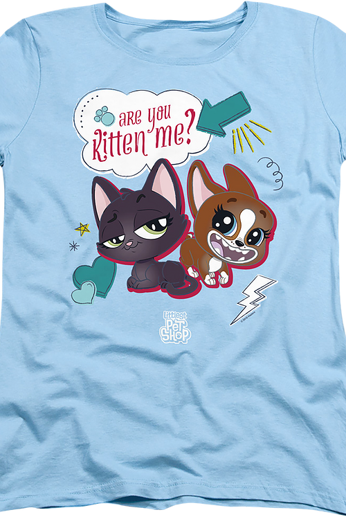 Womens Are You Kitten Me Littlest Pet Shop Shirt