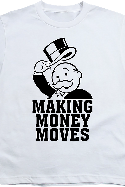 Youth Making Money Moves Monopoly Shirt