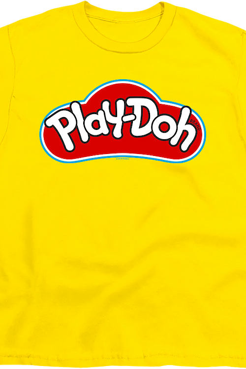 Youth Yellow Play-Doh Shirt