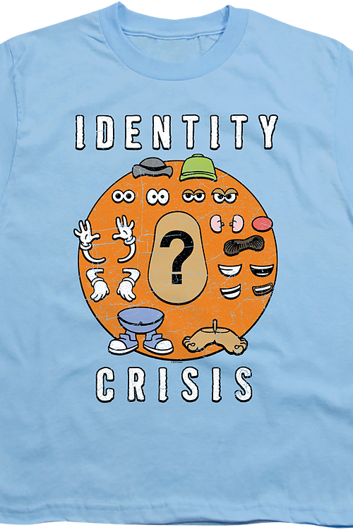 Youth Identity Crisis Mr. Potato Head Shirt