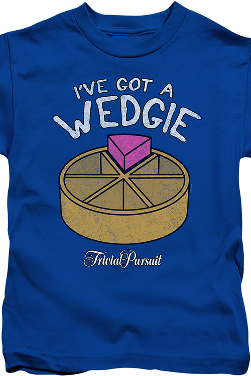 Youth I've Got A Wedgie Trivial Pursuit Shirt