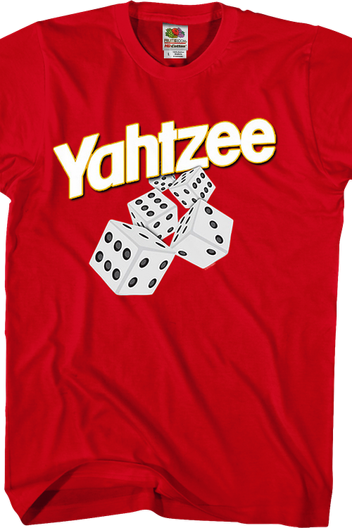 The Fun Game That Makes Thinking Fun Yahtzee T-Shirt