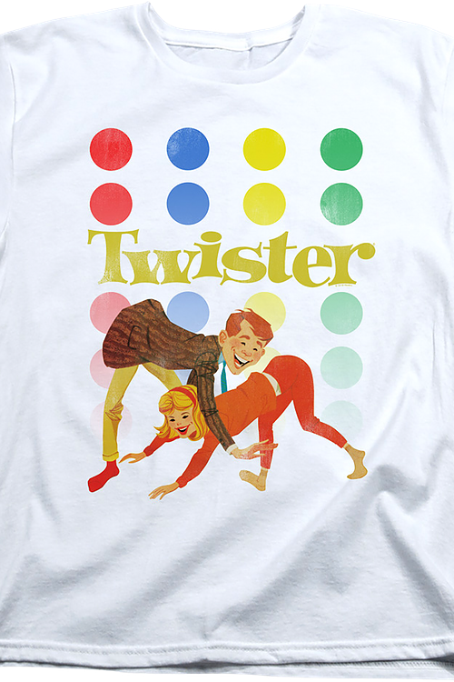 Womens Vintage Twister Shirt