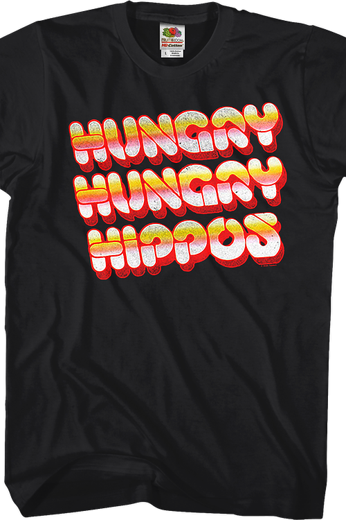 Vintage Logo Hungry Hungry Hippos T-Shirt
