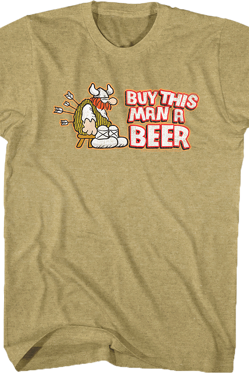 Beer Hagar The Horrible T-Shirt