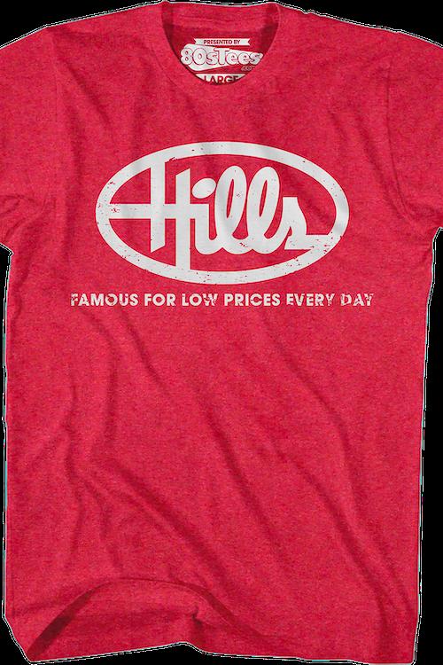 0fec4761 Hills Stores T-Shirt: Retro Retail Stores T-shirt