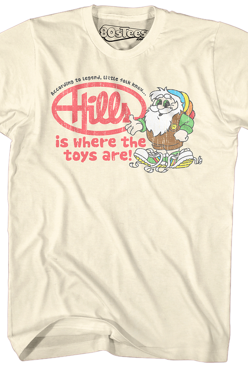 Where The Toys Are Hills T-Shirt