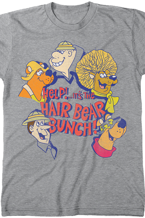 Hanna-Barbera Hair Bear Bunch T-Shirt