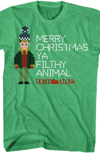 Merry Christmas Filthy Animal Home Alone T-Shirt