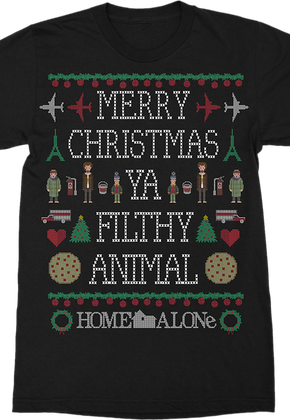 Icons Ya Filthy Animal Home Alone T-Shirt