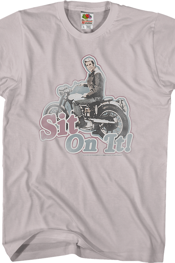 Sit On It Happy Days T-Shirt