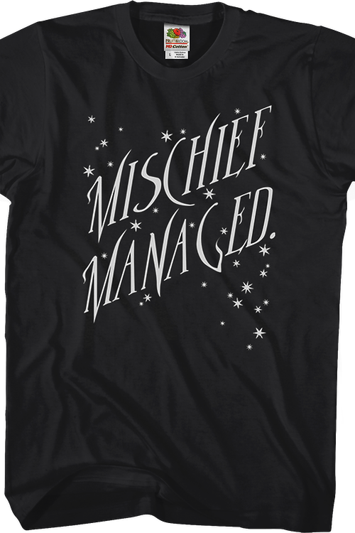 Mischief Managed Harry Potter T-Shirt