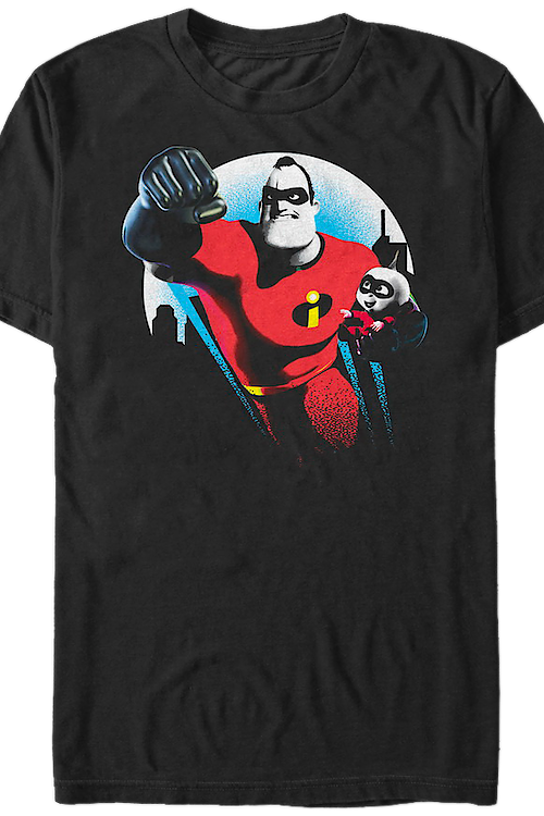 Mr. Incredible and Jack-Jack Incredibles T-Shirt