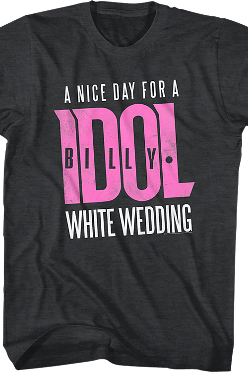 Billy Idol White Wedding T-Shirt